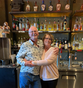 Karen and Eric Nelson, new owners of The Barn Light