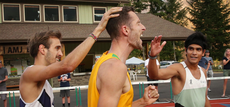 McKenzie International Track Meet. Photo Credit–Register Guard, Chris Pietsch.